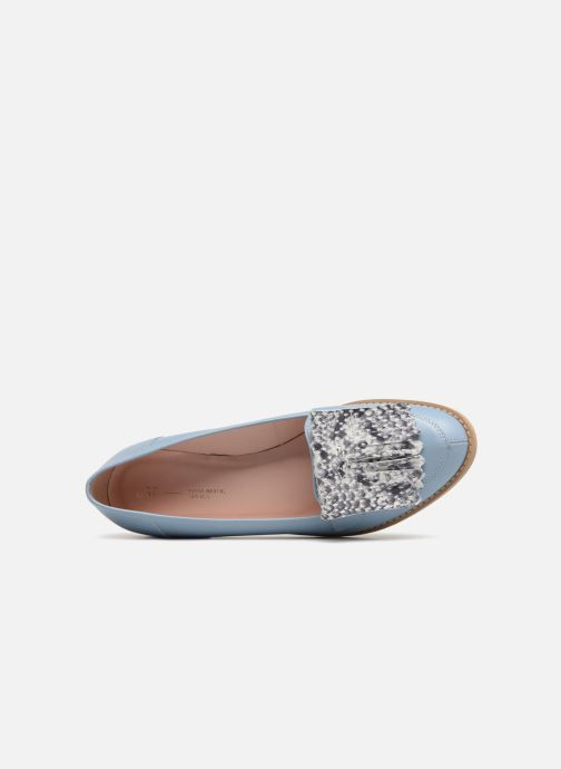 Loafers L37 Loft Moccasins 2 Blue view from the left