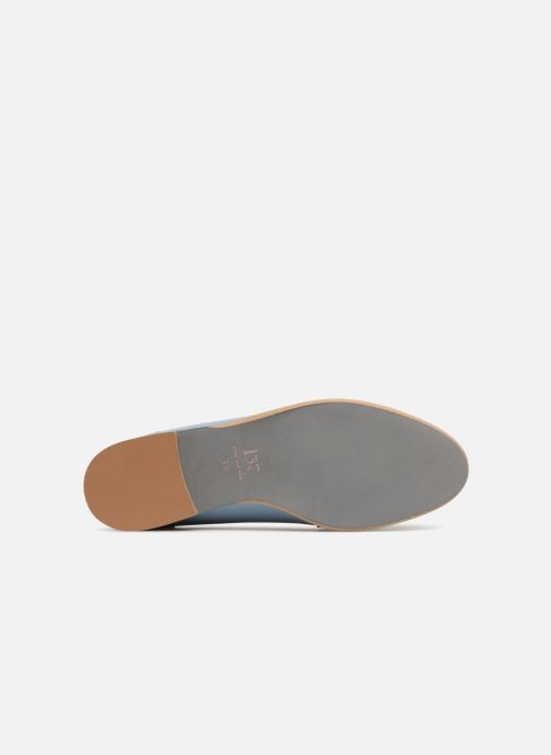 Loafers L37 Loft Moccasins 2 Blue view from above