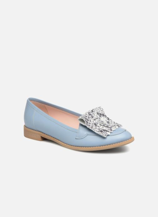 Loafers L37 Loft Moccasins 2 Blue detailed view/ Pair view