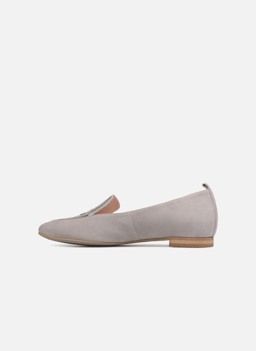 Loafers L37 Miss Giraffe Grey front view