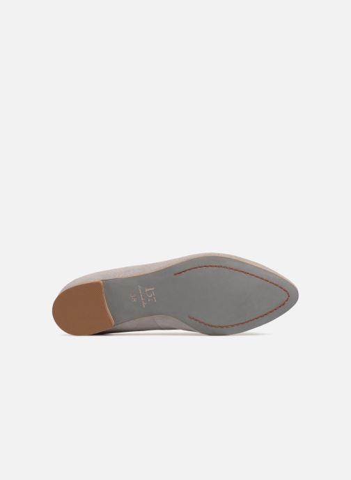 Loafers L37 Miss Giraffe Grey view from above