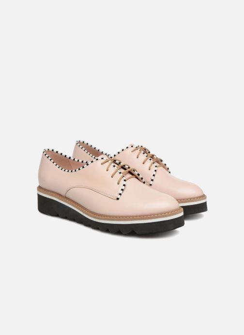 Chaussures à lacets L37 Miss Sky Beige vue 3/4