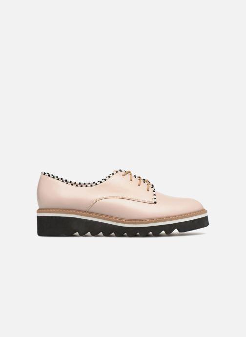 Chaussures à lacets L37 Miss Sky Beige vue derrière