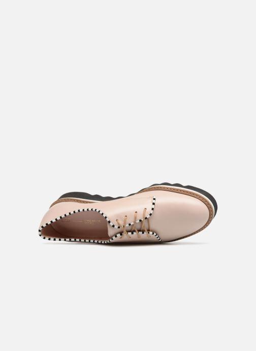 Chaussures à lacets L37 Miss Sky Beige vue gauche