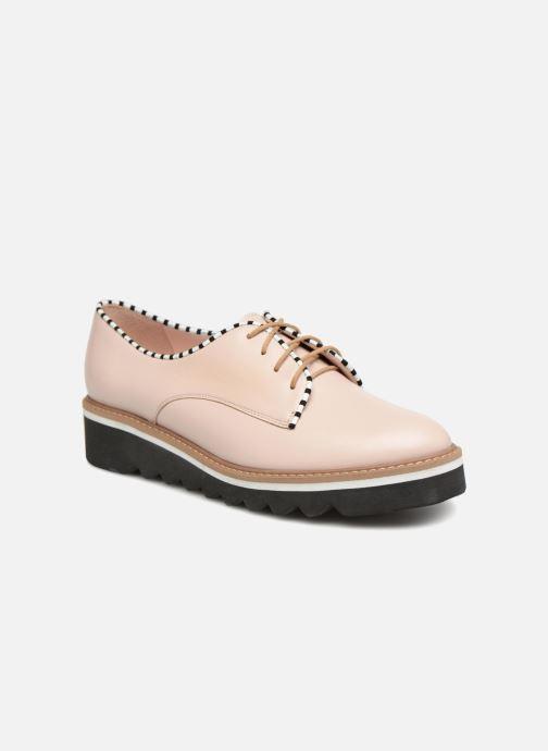 Chaussures à lacets L37 Miss Sky Beige vue détail/paire