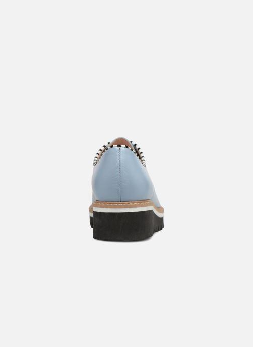 Chaussures à lacets L37 Miss Sky Bleu vue droite