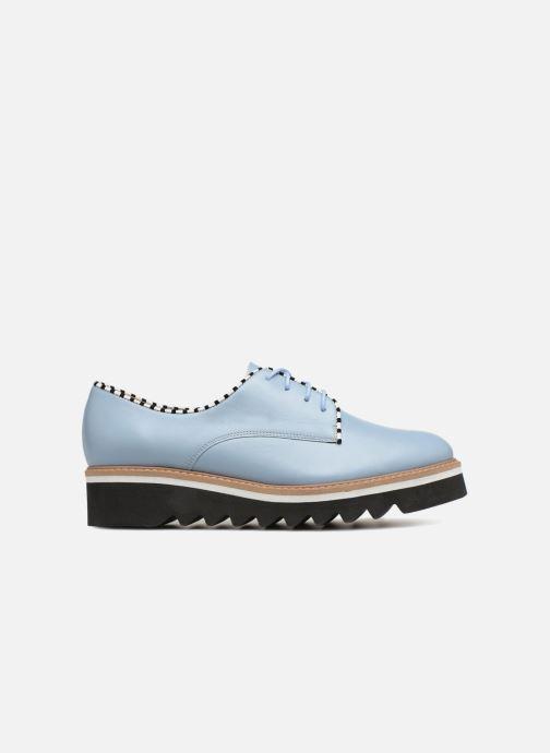 Zapatos con cordones L37 Miss Sky Azul vistra trasera