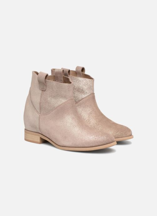 Ankle boots L37 End of Time Up Bronze and Gold 3/4 view