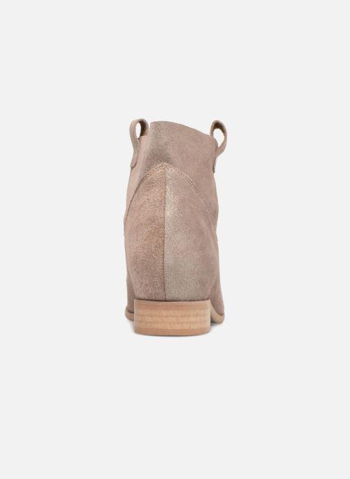 Bottines et boots L37 End of Time Up Or et bronze vue droite