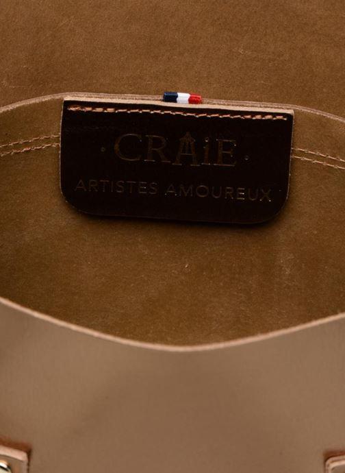 Handtaschen Craie PETITE ETUDE gold/bronze ansicht von hinten