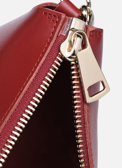 Handtaschen Craie ALCHIMIE weinrot ansicht von hinten