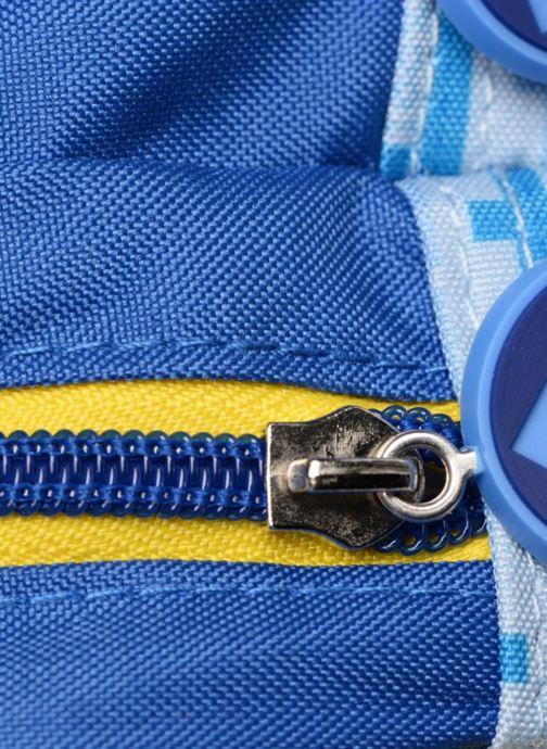 Schooltassen Les Minions TROUSSE 2 COMPARTIMENTS Blauw links