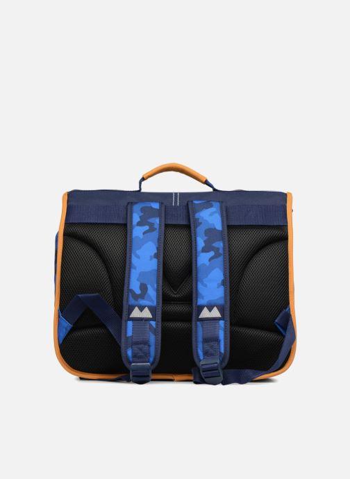 School bags Poids Plume Cartable 38cm Camo Blue front view