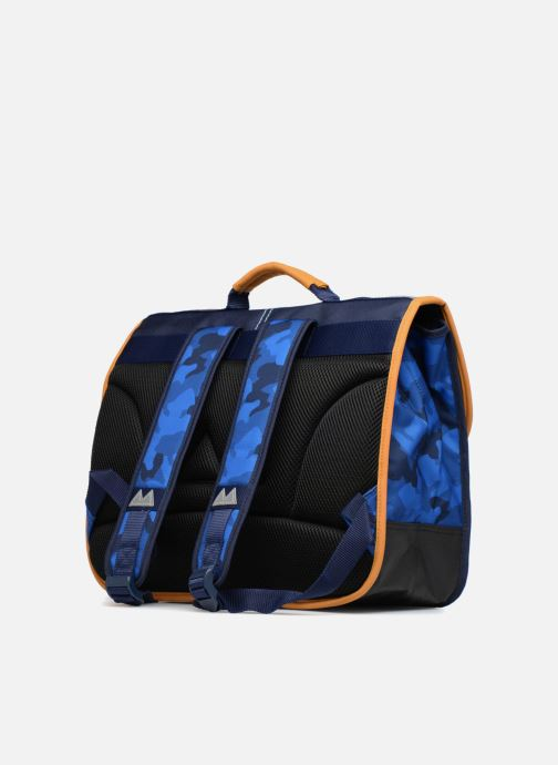 School bags Poids Plume Cartable 38cm Camo Blue view from the right