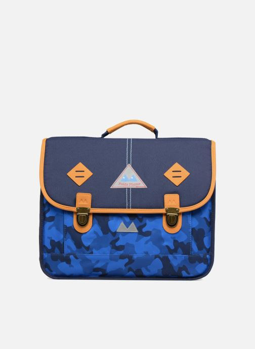 School bags Poids Plume Cartable 38cm Camo Blue detailed view/ Pair view