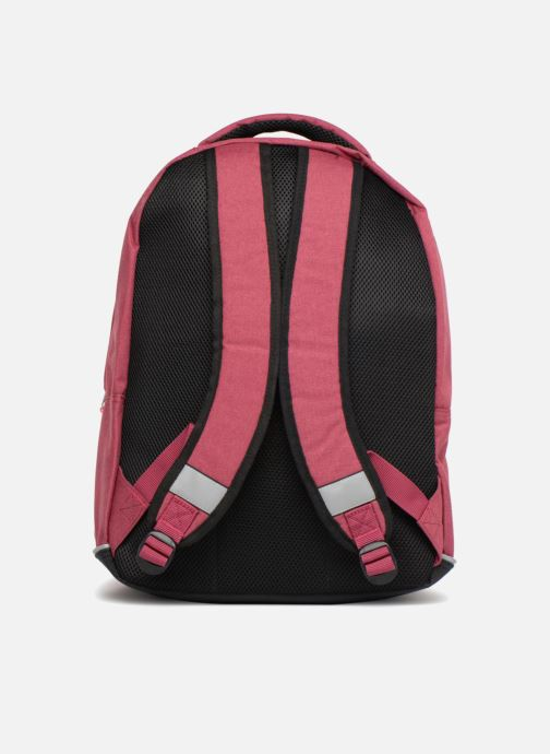 Scolaire Eggmania by DDP Double Backpack Rose vue face