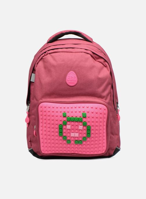 Scolaire Eggmania by DDP Double Backpack Rose vue détail/paire