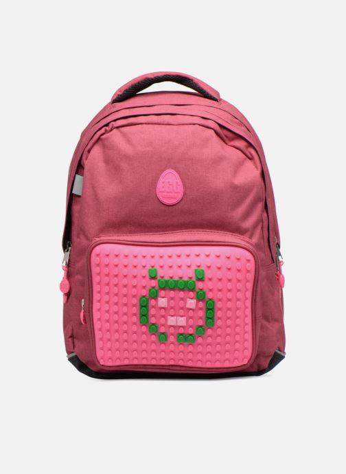 Skoletasker Eggmania by DDP Double Backpack Pink detaljeret billede af skoene