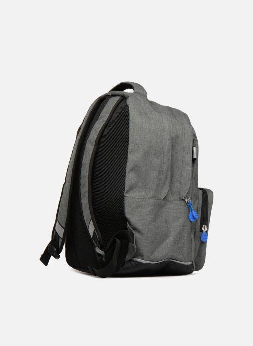 Bandoleras y Colegio Eggmania by DDP Double Backpack Azul vista lateral derecha
