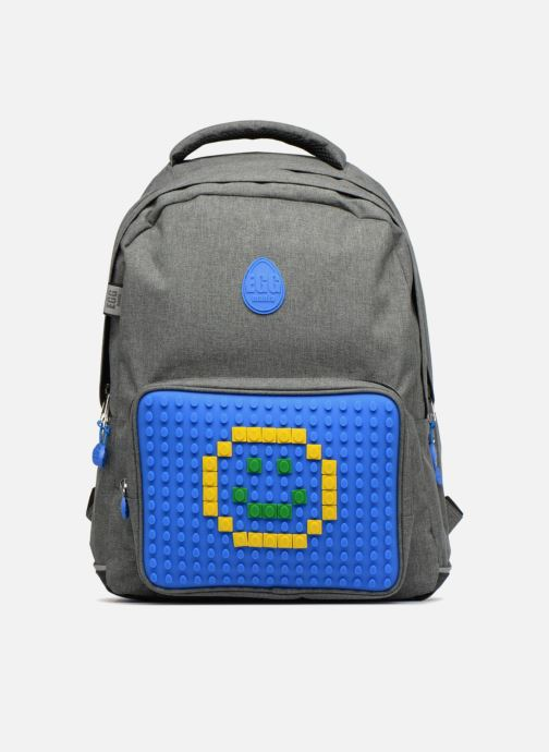 School bags Eggmania by DDP Double Backpack Blue detailed view/ Pair view