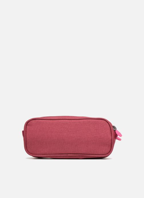 Scolaire Eggmania by DDP Double Pencil Case Rose vue face