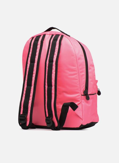 Scolaire Eggmania by DDP Large Eyes Backpack Rose vue droite