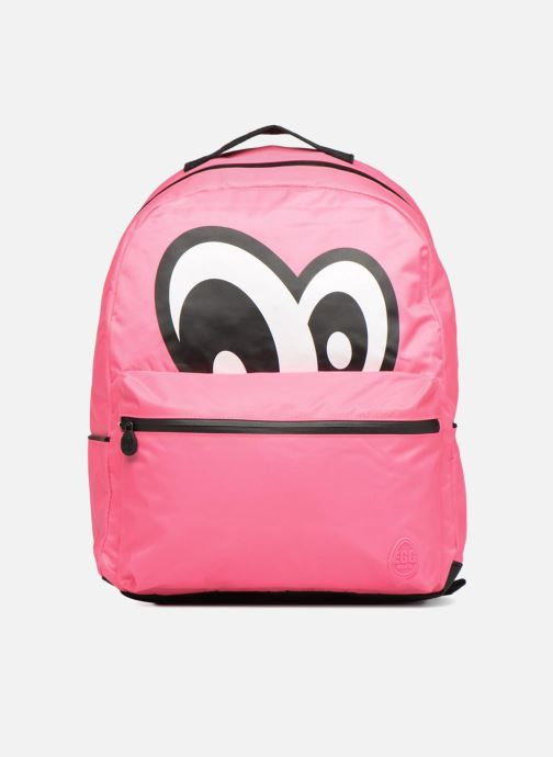 Scolaire Eggmania by DDP Large Eyes Backpack Rose vue détail/paire