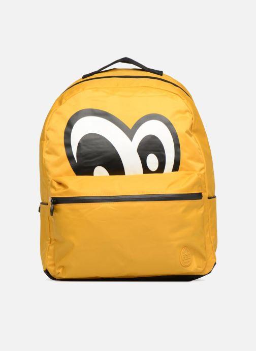 Skoletasker Eggmania by DDP Large Eyes Backpack Gul detaljeret billede af skoene