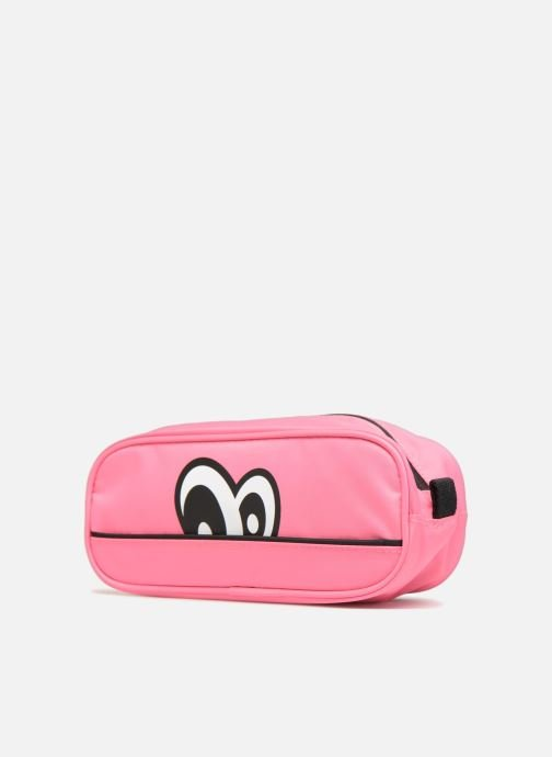Schooltassen Eggmania by DDP Small eyes square pouch Roze model