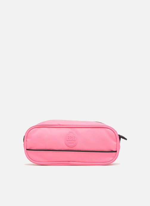 Schooltassen Eggmania by DDP Small eyes square pouch Roze voorkant