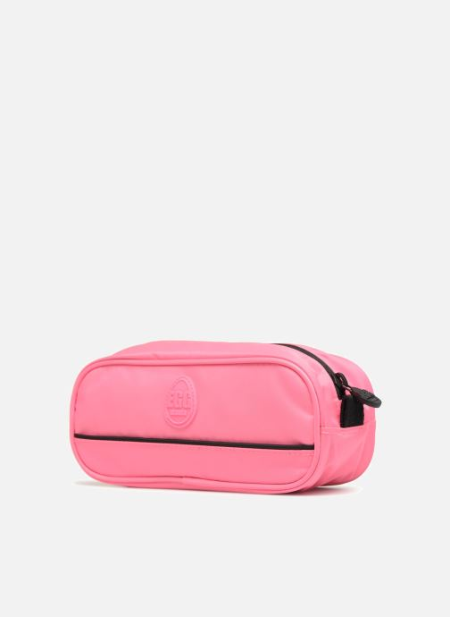 Schooltassen Eggmania by DDP Small eyes square pouch Roze rechts