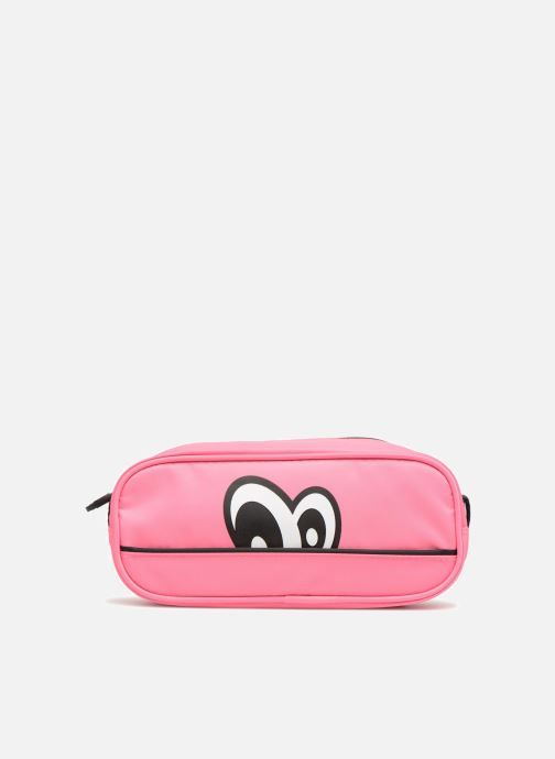 Schooltassen Eggmania by DDP Small eyes square pouch Roze detail