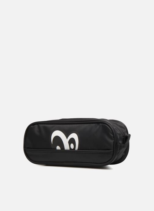 Scolaire Eggmania by DDP Small eyes square pouch Noir vue portées chaussures