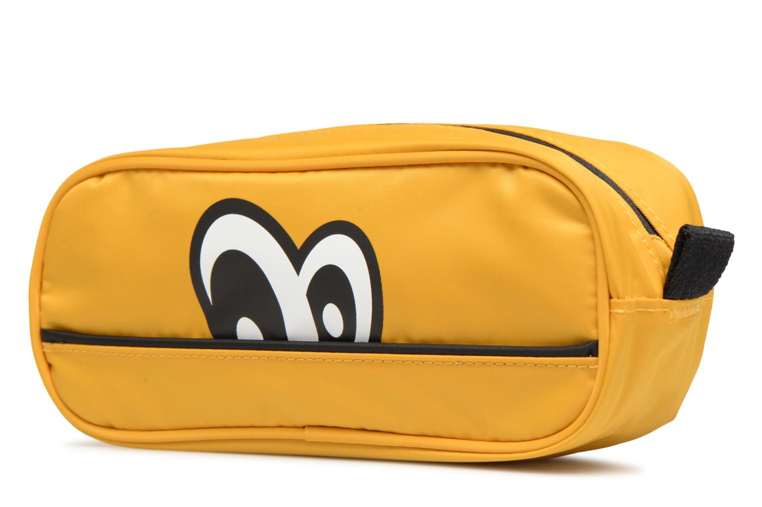 MUSTARD pouch DDP square Small eyes Eggmania by HCqw1XY