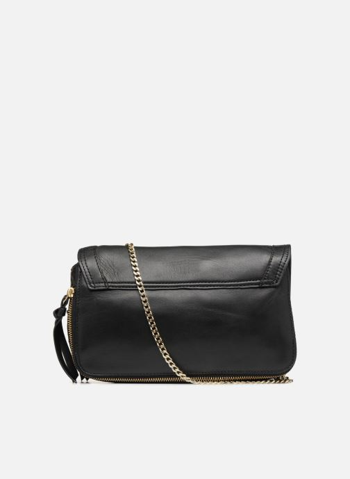 Sacs à main Pieces Face Leather Crossbody Noir vue face