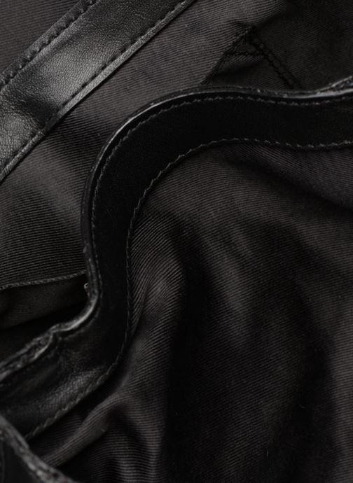 Sacs à main Pieces Face Leather Crossbody Noir vue derrière