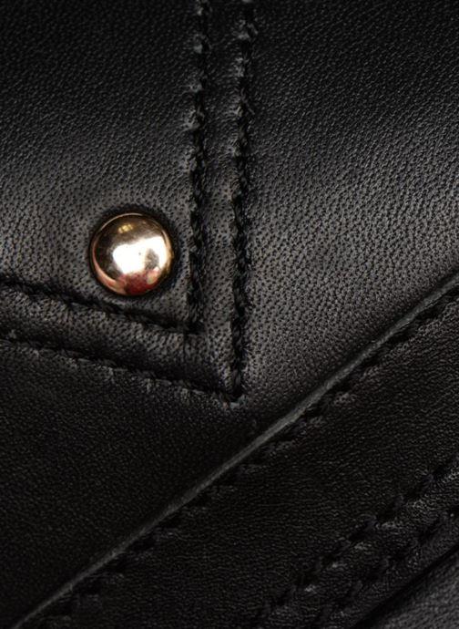 Sacs à main Pieces Face Leather Crossbody Noir vue gauche
