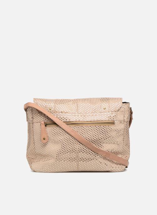 Sacs à main Pieces Joy Leather Bag Beige vue face