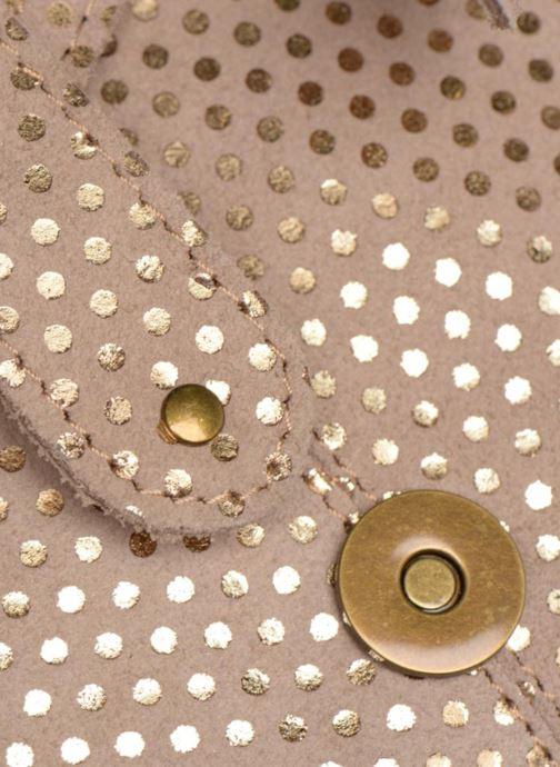 Sacs à main Pieces Joy Leather Bag Beige vue gauche