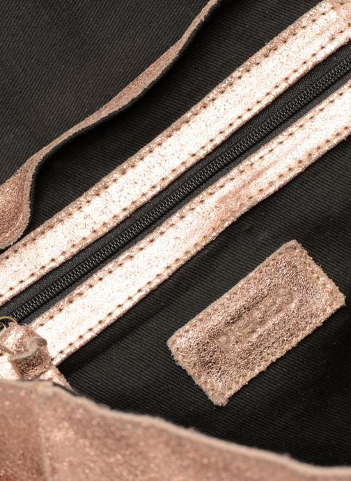 Sacs à main Pieces Joy Leather Bag Or et bronze vue derrière