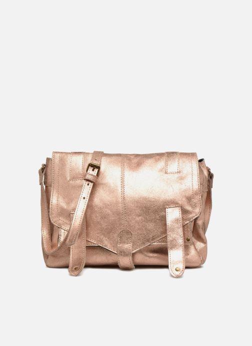 Sacs à main Pieces Joy Leather Bag Or et bronze vue détail/paire