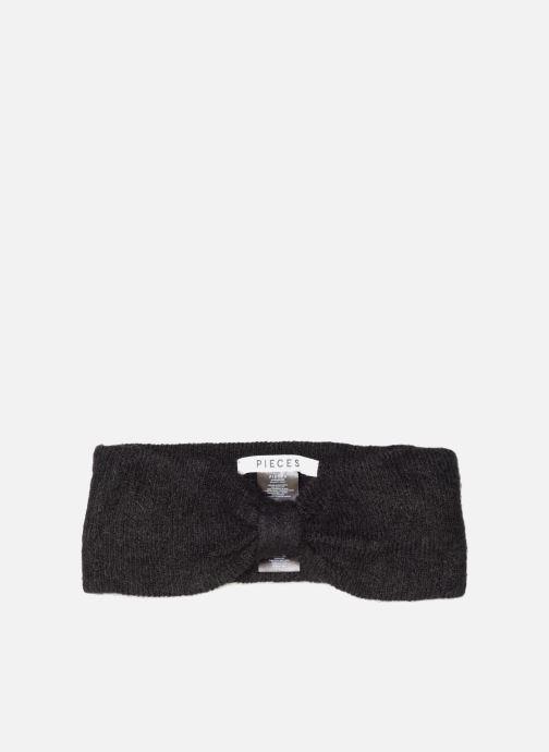 Muts Pieces Josefine Wool Headband Zwart detail