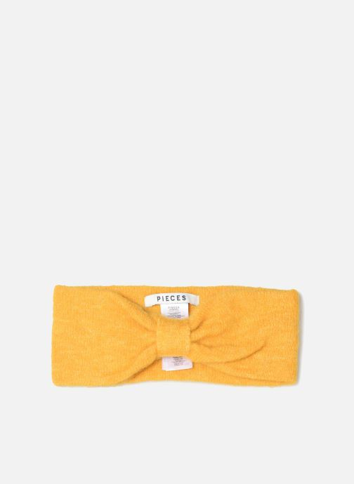 Bonnets Pieces Josefine Wool Headband Jaune vue détail/paire