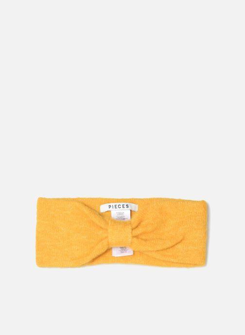 Mütze Pieces Josefine Wool Headband gelb detaillierte ansicht/modell