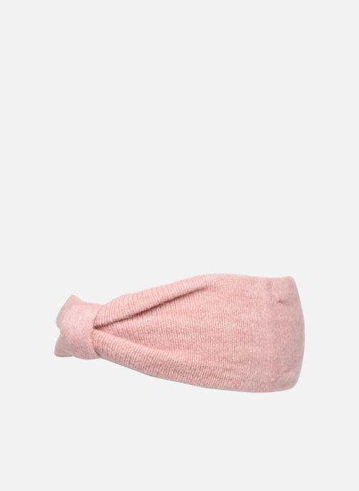 Beanie Pieces Josefine Wool Headband Pink model view