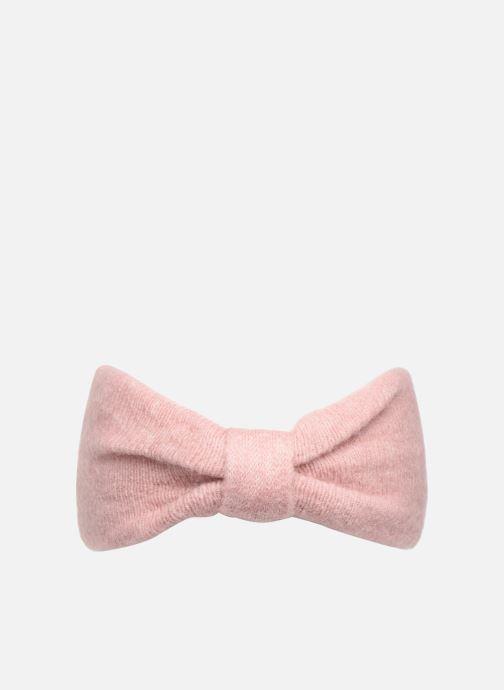 Beanie Pieces Josefine Wool Headband Pink detailed view/ Pair view