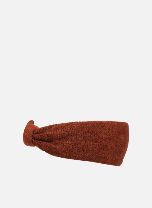 Bonnets Pieces Josefine Wool Headband Orange vue portées chaussures