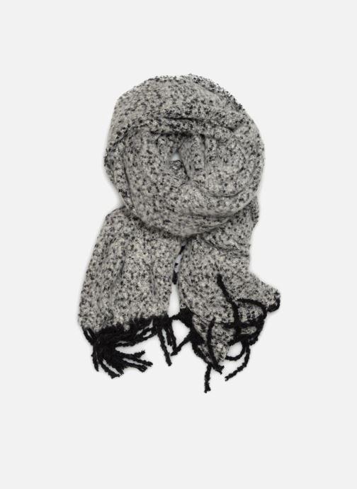 Halsduk och scarf Pieces Jera Long Scarf Grå detaljerad bild på paret