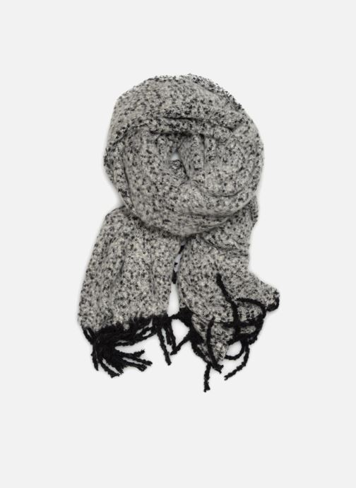 Sjaal Pieces Jera Long Scarf Grijs detail