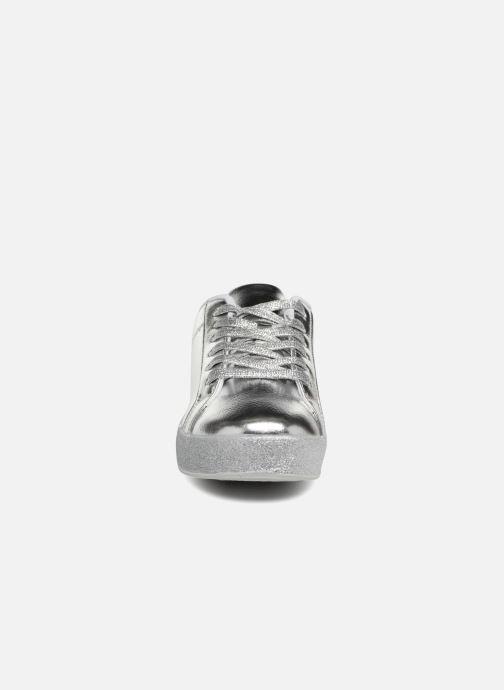 Baskets I Love Shoes THASKET Argent vue portées chaussures